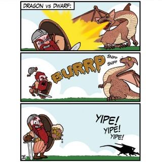 Dwarf vs Dragon Entry # 12