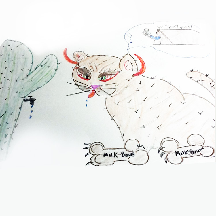 the Cactus Cat Entry # 10