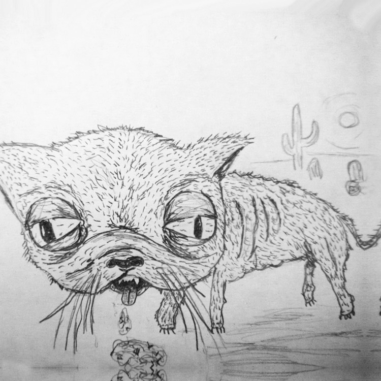 the Cactus Cat Entry # 15