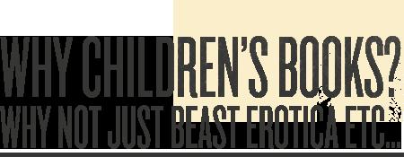 Why Children's Books?