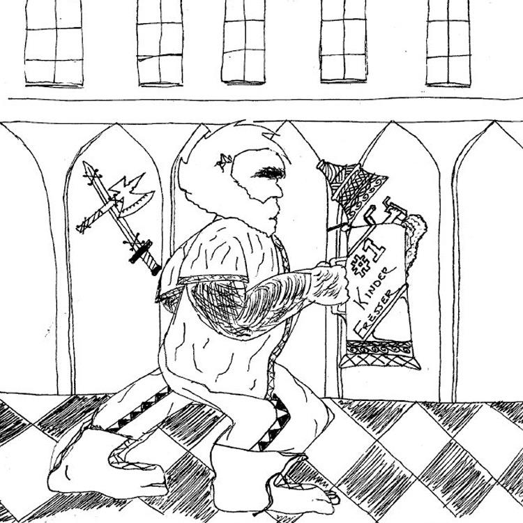 the Kinder Fresser Entry # 14