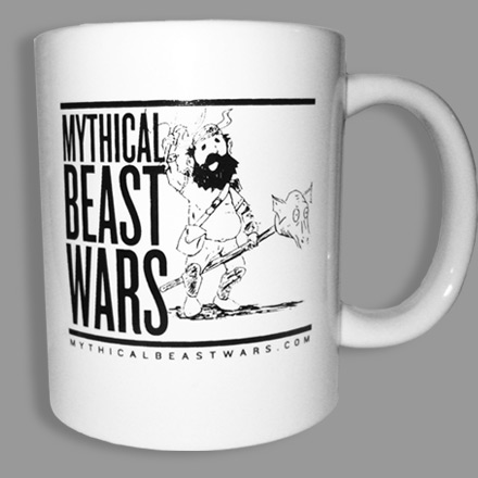 Mythical Beast Wars Mug version 001 Side 1