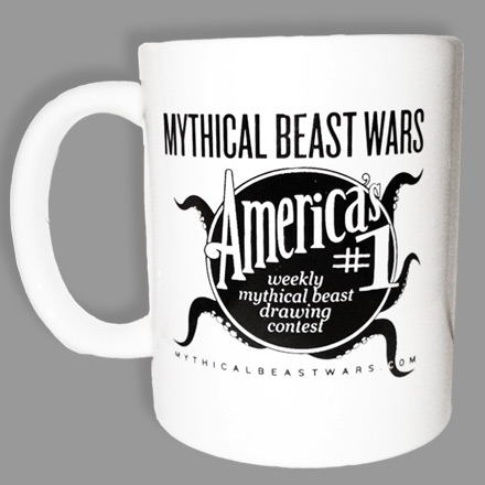 Mythical Beast Wars Mug version 001 Side 2