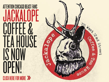 Jackalope Coffee & Tea House Is now open!