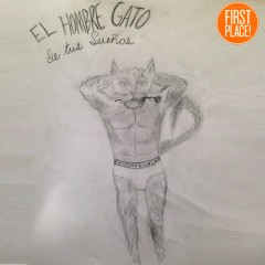 the First Place Hombre Gato Entry