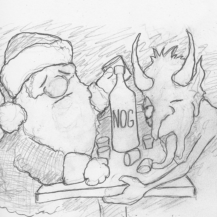 Santa Vs Krampus Entry # 1