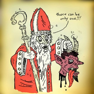 Santa Vs Krampus Entry # 10