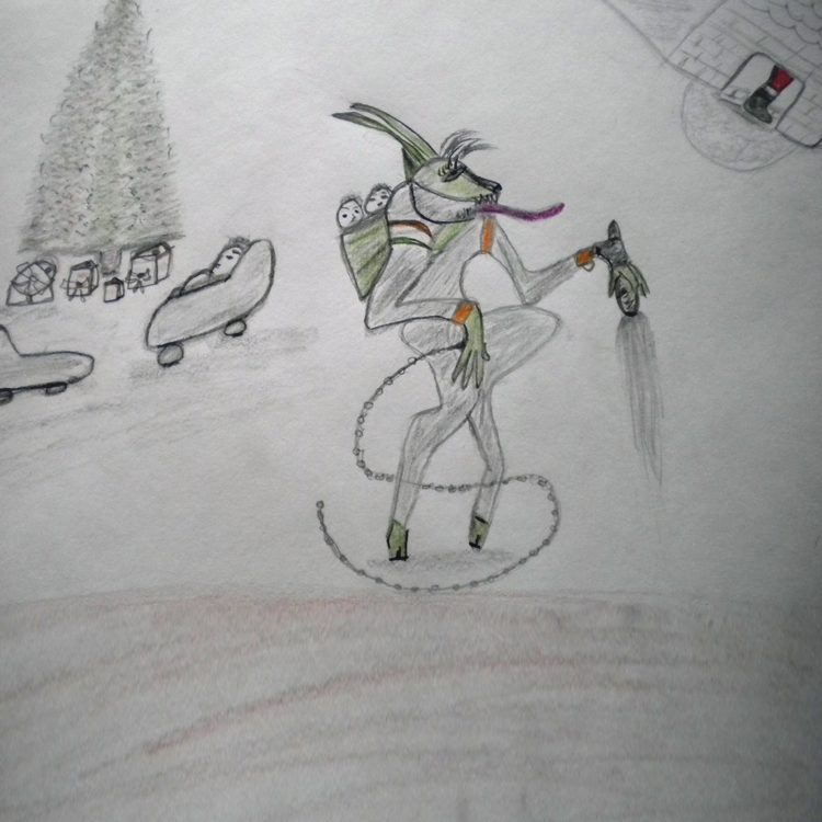 Santa Vs Krampus Entry # 3