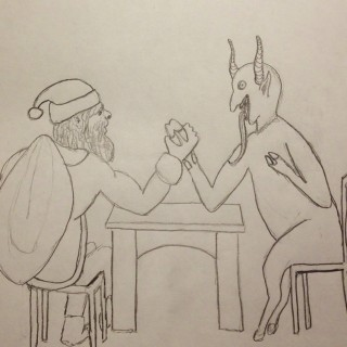 Santa Vs Krampus Entry # 6