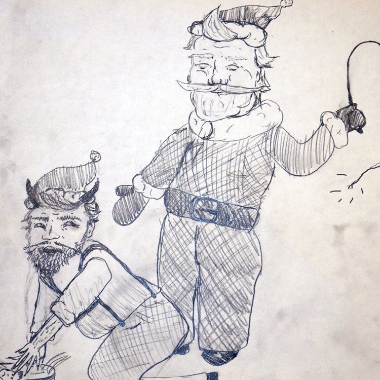 Santa Vs Krampus Entry # 7