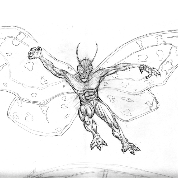 The Mothman Entry # 8