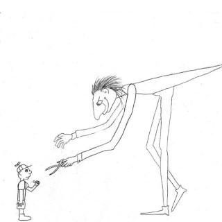the Great Long Red Legged Scissor Man Entry # 13