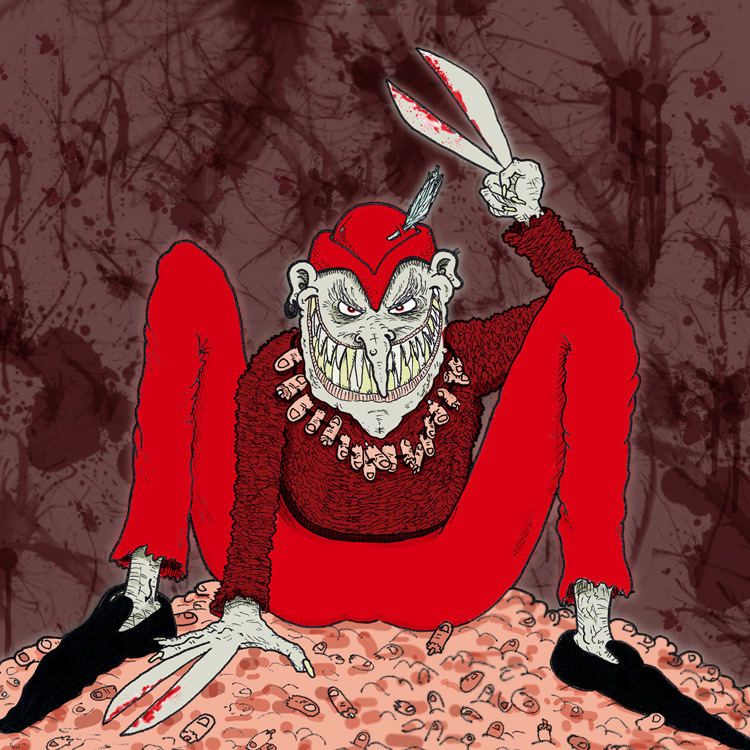 the Great Long Red Legged Scissor Man Entry # 3