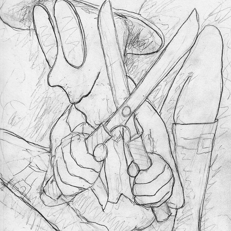 the Great Long Red Legged Scissor Man Entry # 5