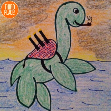 the Third Place Loch Ness Monster Entry