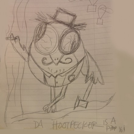 The Hootpecker Entry # 10