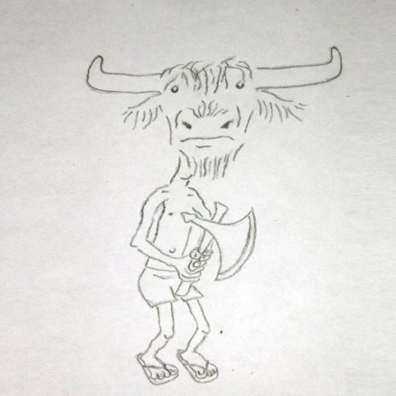 The Minotaur Entry # 13