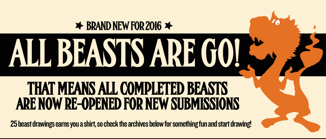 Draw an archived beast!