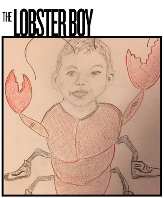 The Lobster Boy Drawing Archive
