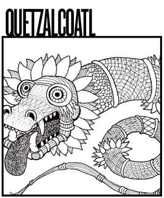 The Quetzalcoatl Drawings Archive