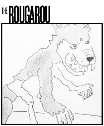 The Rougarou Drawing Archive