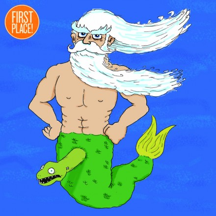 The First Place Merman Entry
