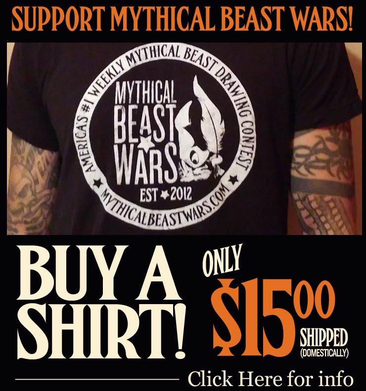 Buy A Mythical Beast Wars Shirt