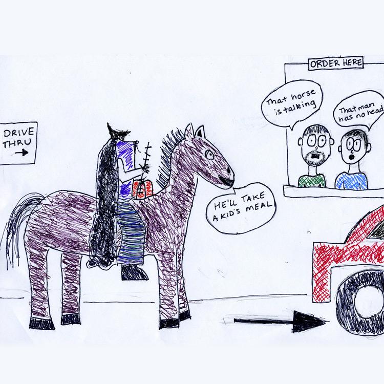 The Headless Horseman Entry # 8