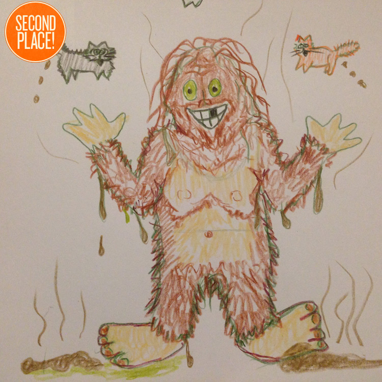 The Second Place Skunk Ape Entry