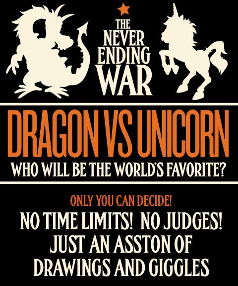 Dragon Vs Unicorn?
