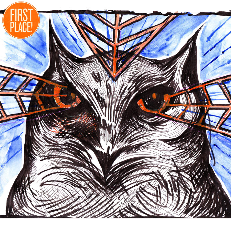 The First Place Lil Owl Entry