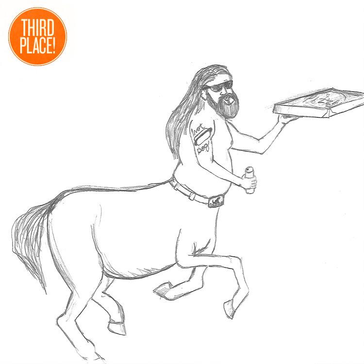 The Third Place Centaur Entry