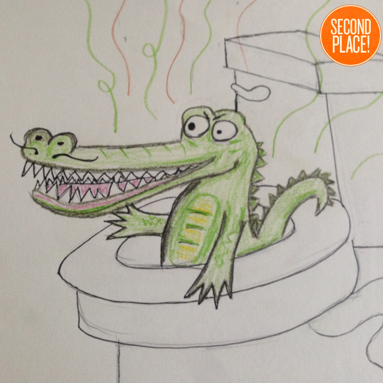 The Second Place Sewer Alligator Entry