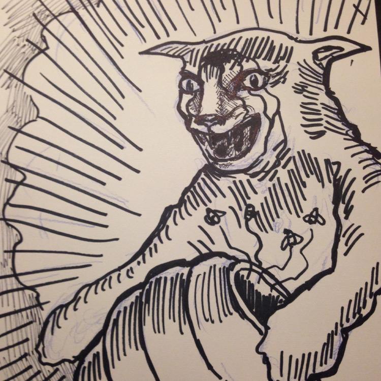 The Splinter Cat Entry # 9
