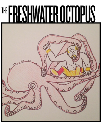 Giant Freshwater Octopus