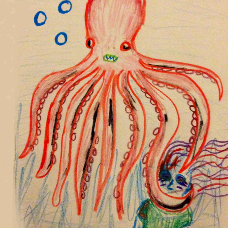 The Giant Freshwater Octopus Entry # 7