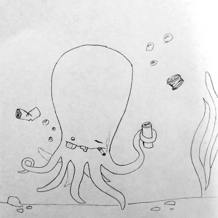 The Giant Freshwater Octopus Entry # 9