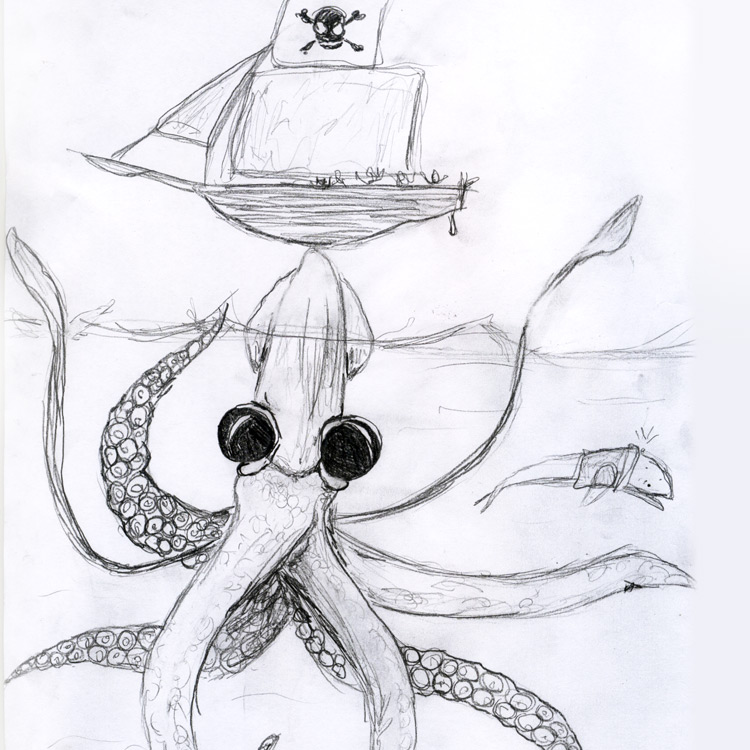 The Giant Squid Entry # 1