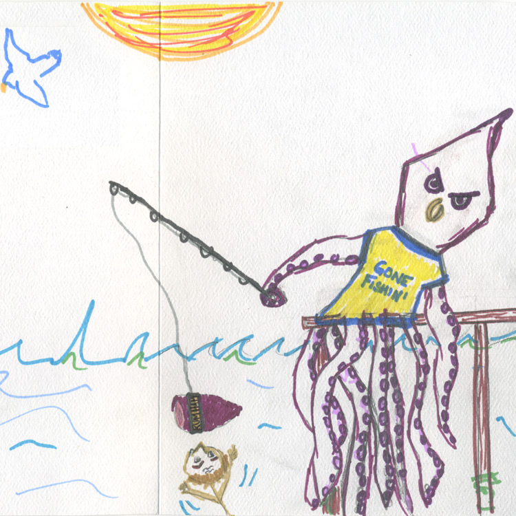 The Giant Squid Entry # 2