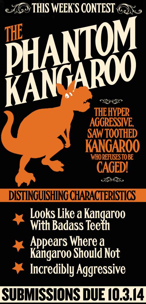 this Week's Contest - The Phantom Kangaroo