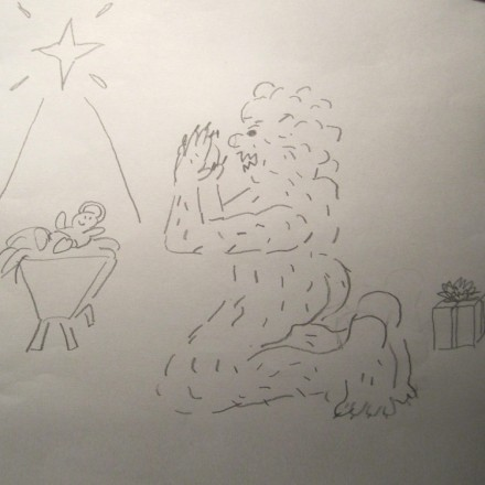 How the Abominable Snowman Saved Xmas Entry #14