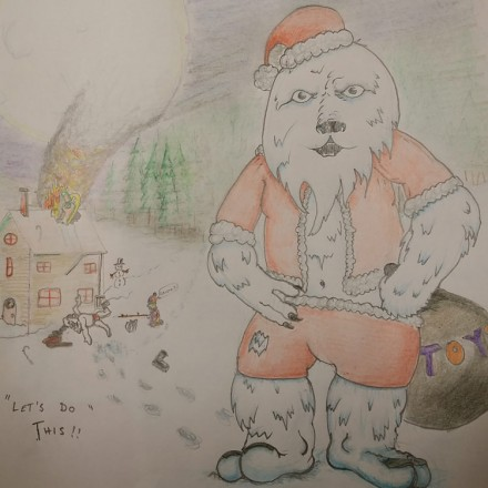 How the Abominable Snowman Saved Xmas Entry #4