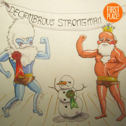 The First Place Abominable Snowman Entry