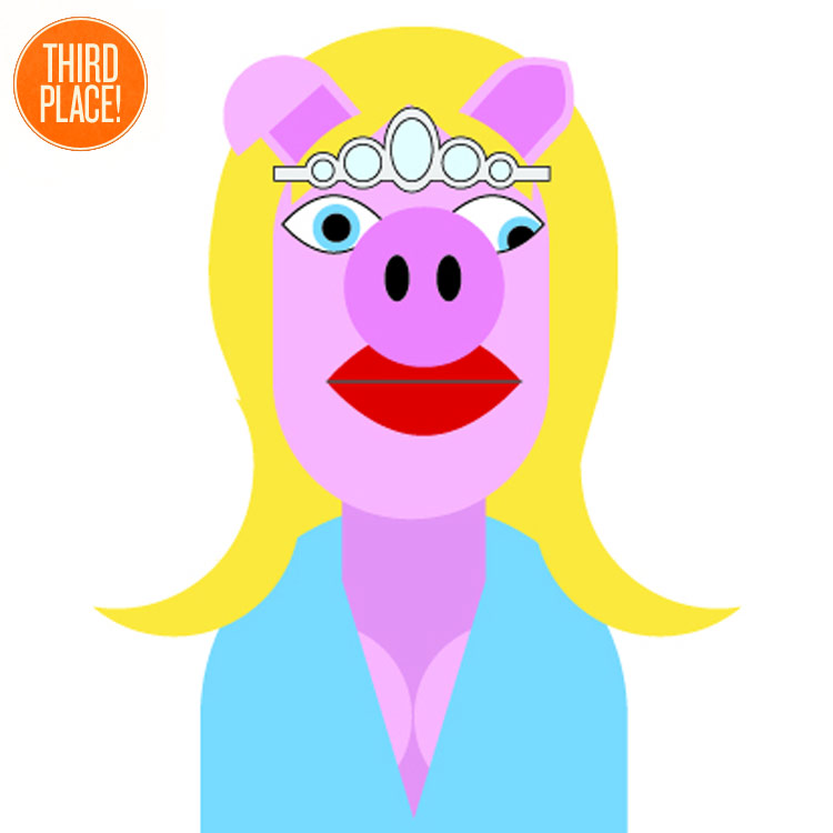 The Third Place PIg Faced Women Entry