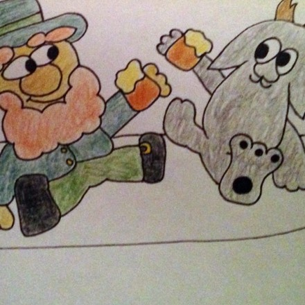 The Jackalope Vs Leprechaun Entry # 3
