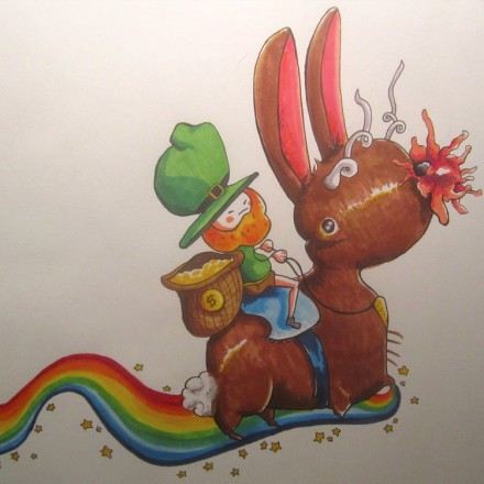 Jackalope VS Leprechaun Entry # 4