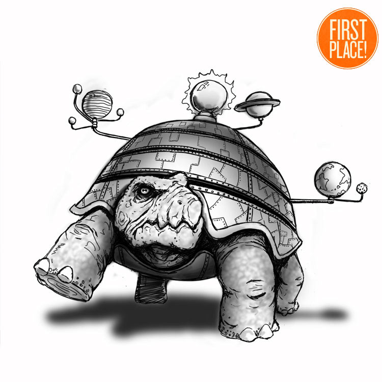 The First Place World Turtle Entry