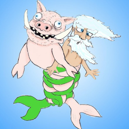 Merman Vs Sea Hog Entry # 4