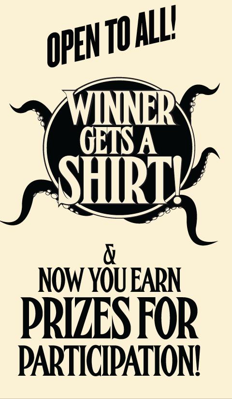 New Rules! Winner Gets A Shirt!