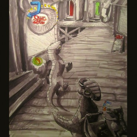 The Subterranean Reptoid Entry # 8